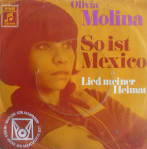 7-034-1971-RARE-IN-VG-OLIVIA-MOLINA-So-ist-Mexico