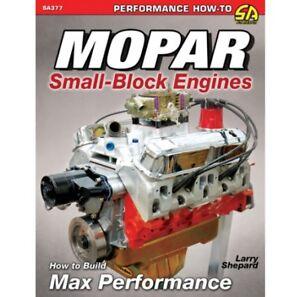 Mopar Small-Block Engines 273 318 340 360 Build Hi-Performance Manual Book SA377