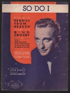 So-Do-I-1936-Bing-Crosby-Pennies-From-Heaven-Sheet-Music