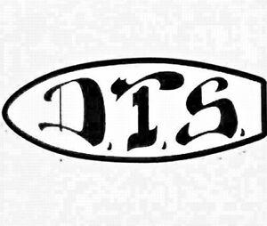 DOGTOWN-034-Skate-Deck-034-Skateboard-Sticker-15cm-MEDIUM-Old-Skool-BLACK-WHITE-1970s