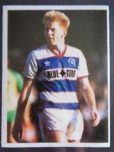 Daily Miroir Bâton Avec Football 1986-87 - Gary Waddock ( Qpr ) Nn65voql-07221845-853622088