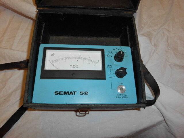 Semat 52  TDS Tester