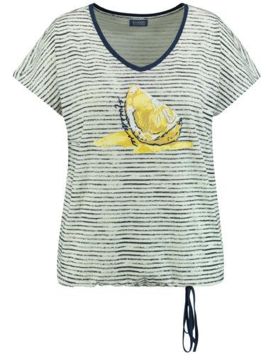 Samoon Shirt gestreift by Gerry Weber legere Weite Neu TShirt Damen Gr.