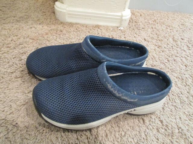 Navy Mesh MOC Slide Sporty Loafers