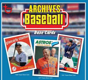 2018-Topps-Archives-Complete-Your-Set-Pick-25-Cards-From-List-U-Pick-Lot