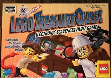 RARE Lego Treasure Quest Scavenger Hunt Game MISSING ONE KEY. 3 Can Now Play!