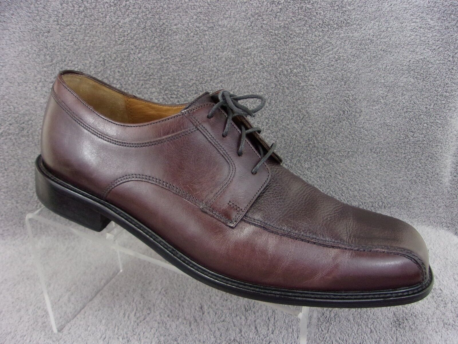 Bostonian First Flex dark brown leather bicycle toe oxford men's size 13M