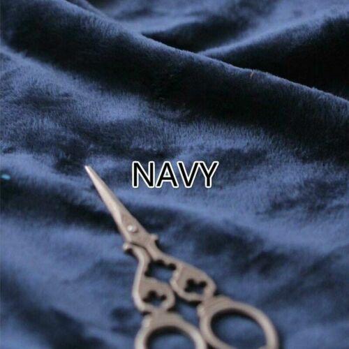 Furry Flauschig Stoff Kunst Hintergrund Plüsch Weiches Fleece Material DIY Tuch
