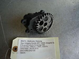 Stellmotor Heizung Opel Insignia 16451056 2.0 CDTi 4x4 118kW A20DTH 85470