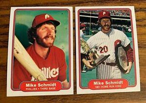 Mike-Schmidt-Fleer-1982-258-and-637-Phillies-HOF