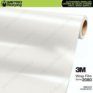 3M 1080 White Matte Vinyl Vehicle Decal Trim Car Wrap Film Sheet Roll
