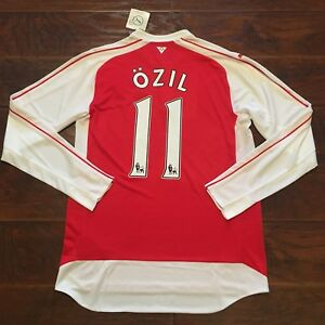 competitive price c99c1 ee6b7 Nike × Patta Nike Air Span II X Patta Friends and family only  Image is  loading 2015-16-Arsenal-Home-Jersey-11-OZIL ...
