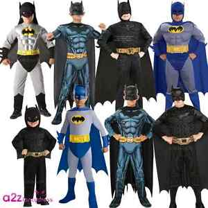 Image is loading BOYS-BATMAN-DARK-KNIGHT-SUPERHERO-MUSCLE-CHEST-KIDS- & BOYS BATMAN DARK KNIGHT SUPERHERO MUSCLE CHEST KIDS LICENSED FANCY ...