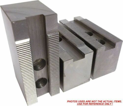 "3pc set KT-6152F Steel Soft Jaws For a 6/"" Chuck ht=1.5/"" Kitagawa, Samchully"