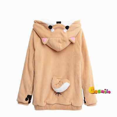 Lovely Muuuuuuuco! Itoshi no Muco Doge Cosplay Hoodie Sweater Coat Gift Cute