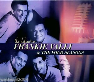 Frankie-Valli-amp-The-Four-Seasons-Definitive-NEW-CD-Best-Of-Greatest-Hits