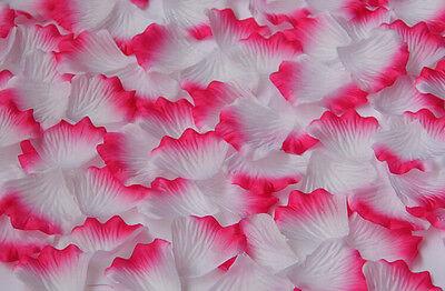 100pcs Chic Silk Rose Flower Petals Leaves Wedding Party Decorations Multicolor