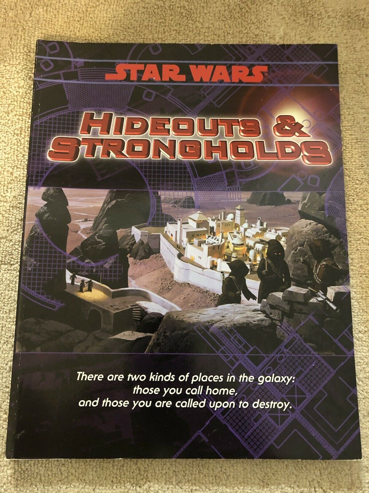 Estrella Wars Hideouts & Strongholds RPG West End Juegos Softcover Complete NM