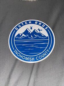 Dutch Bros Snohomish County regional sticker