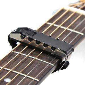 Acoustic-Guitars-Ukulele-Capo-Gear-Silver-Black-Guitar-Capo-Guitar-AccessoYBH