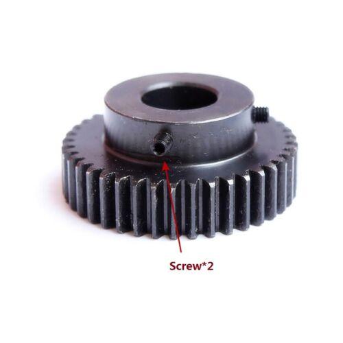 avec étape pignon de transmission Gear 1.5 module 12T-60T 45# Steel Spur Gear