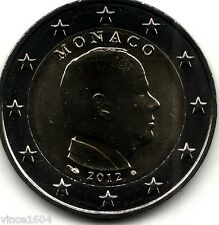 piéce 2 euros Monaco 2012 qualité UNC , voir scan !!!