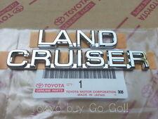 Toyota Land Cruiser Prado120 LC120 FJ120 Emblem Badge Genuine OEM Part 2002-2008