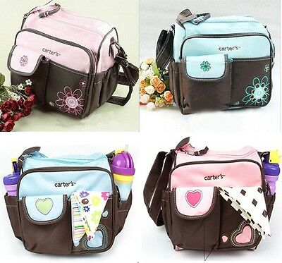 4 Color New Baby Cute Nappy Changing Bag Mom Tote Little Shoulder Bag Diaper Bag