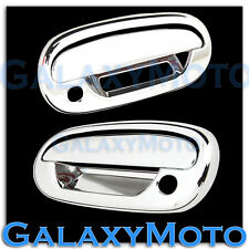 97-03 Ford F150+04 Heritage Chrome ABS 2 Door+Keypad+PSG Keyhole Handle Cover