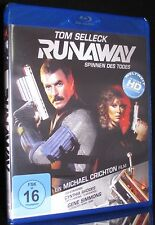 BLU-RAY RUNAWAY - SPINNEN DES TODES - TOM SELLECK - MICHAEL CRICHTON *** NEU ***