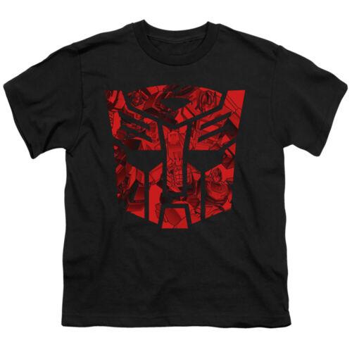 Transformers Kids T-Shirt Imprinted Autobot Logo Black Tee