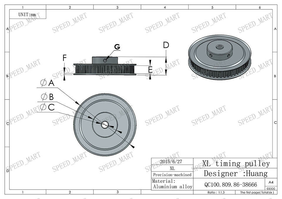 2x Split Ring Drill Stop Collars Set Exact Hole Depth Brad Point Bits 40x60x15mm