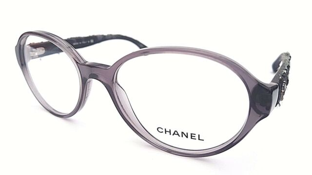 CHANEL DESIGNER Frames Glasses in Dark Grey 3250 1191 & Under | eBay