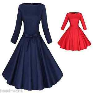 Dress style 1950