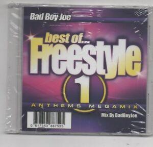 Bad-Boy-Joe-Freestyle-Megamix-Vol-1-CD-Judy-Torres-Safire-Coro-TKA
