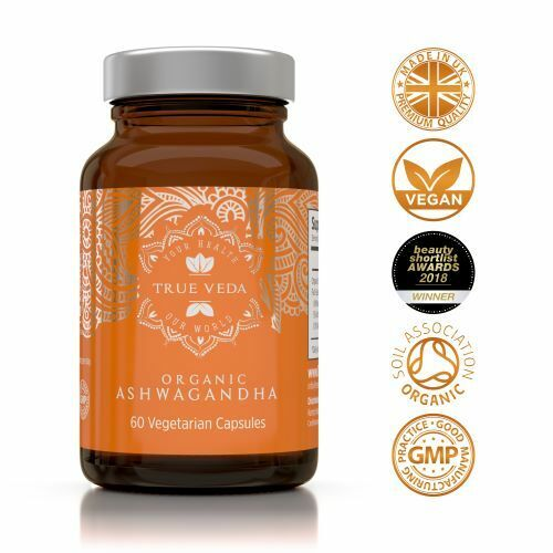 Organic Ashwagandha Capsules - Vegan Ashwagandha KSM-66 Extract - Ashwaganda