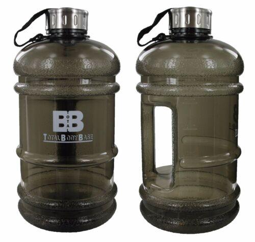 Groß 2.2 Liter Wasserflasche Bpa Frei Fitness Workout Training Sports Fitness