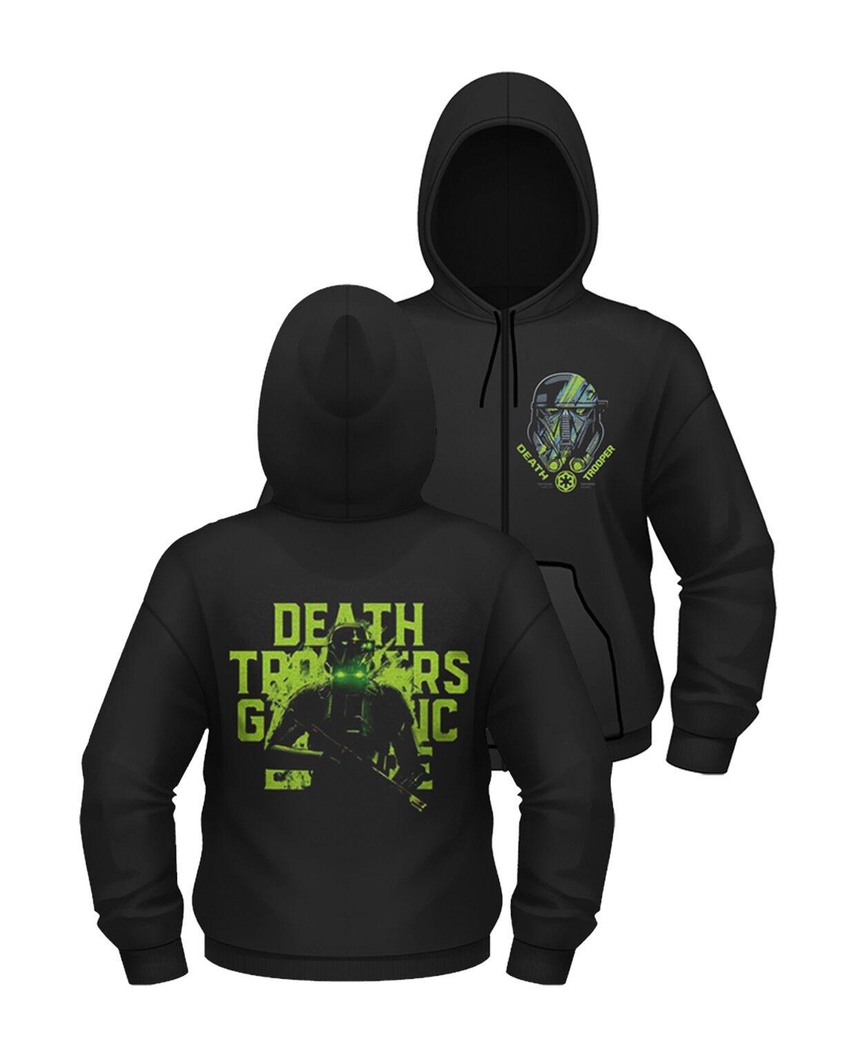 Star Wars Rogue One 'Death Trooper' Zip Hoodie - NEW hoody hooded sweatshirt