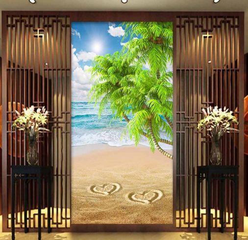 3D IL Mare e il Mare Parete Murale Carta da parati immagine sfondo muro stampa