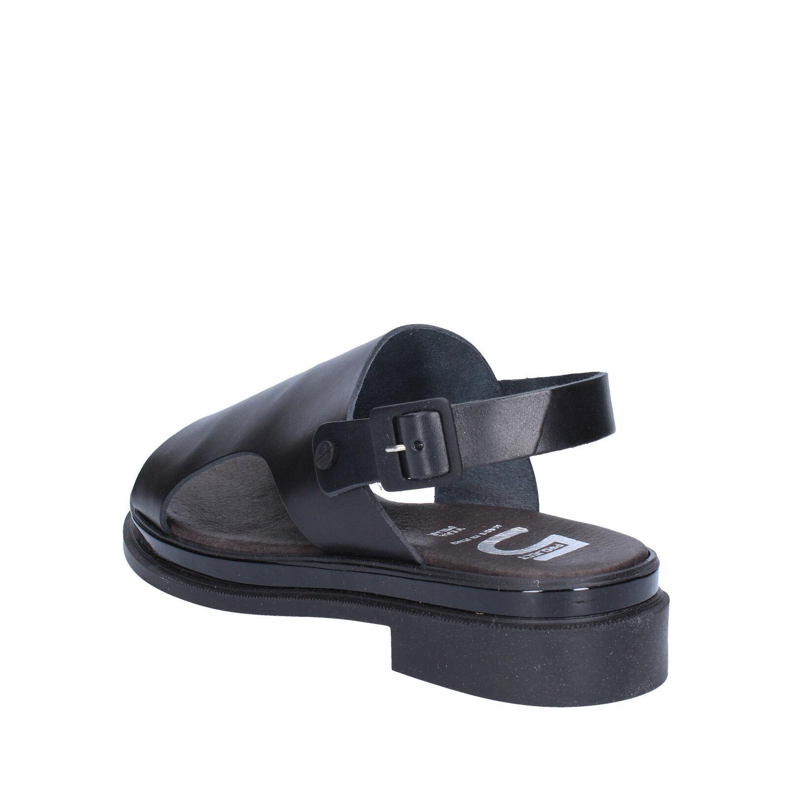 Scarpe donna 5 PRO JECT 38 38 sandali JECT EU sandali 38 nero pelle AC704 E   209f3b