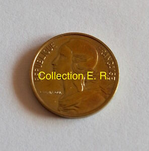 5 Centimes Marianne 1993 4plis