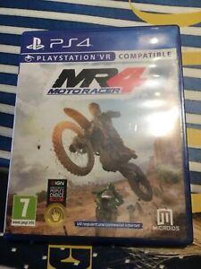 Jeux PS4 Moto Racer 4 compatible PsVr