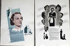 20390 FILM PLAKAT POSTER Fräulein 1939 mit Ilse Werner Mady Rahl Hans Leibelt
