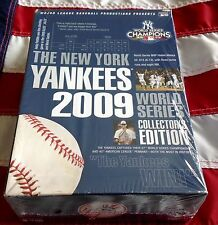 NEW YORK YANKEES 2009 WORLD SERIES sealed DVD 8 disc BOX SET VS PHILLY + ALCS G6