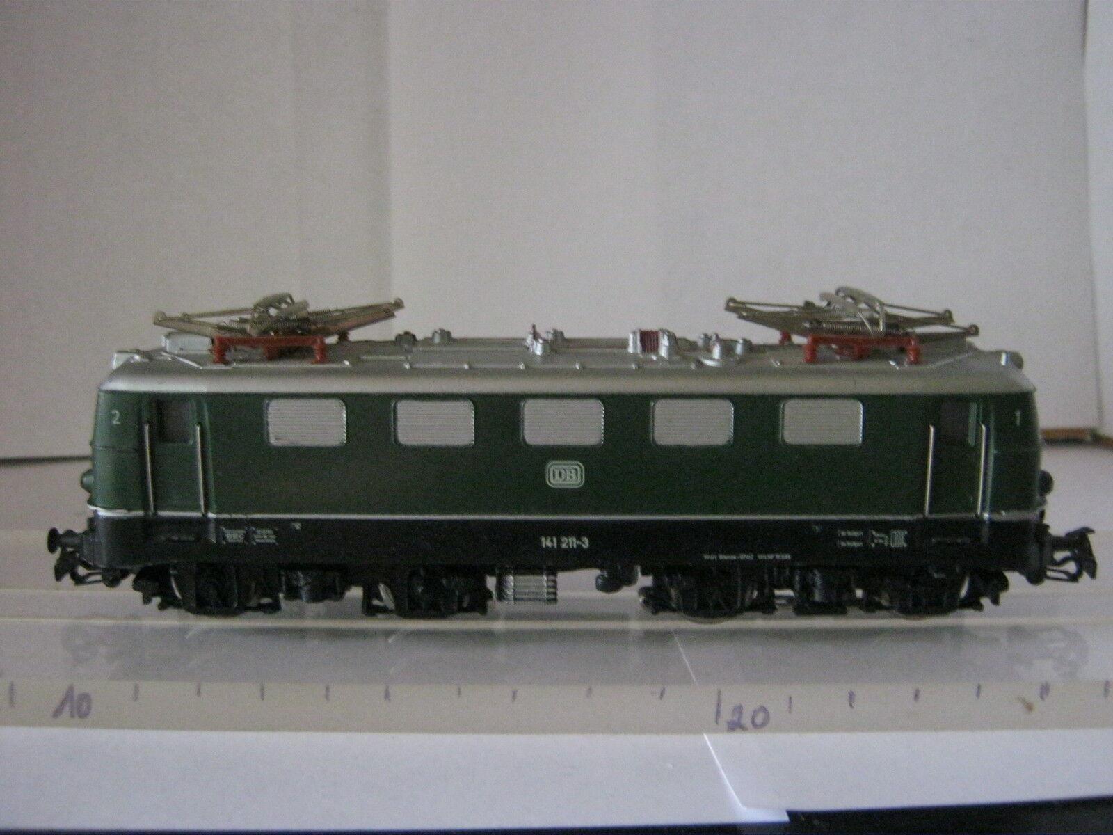 Märklin HO 3037 E-LOK BR 141 211-3 DB  vert (RG BP 56S6 41)  Achetez maintenant