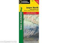 National Geographic Trails Illustrated Alberta/bc Canada Jasper North Map 903