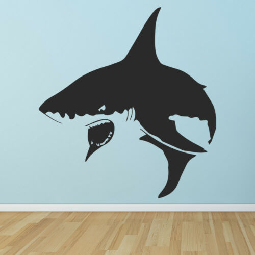 Shark Attack Sea Animals Wall Decal Sticker WS-32826