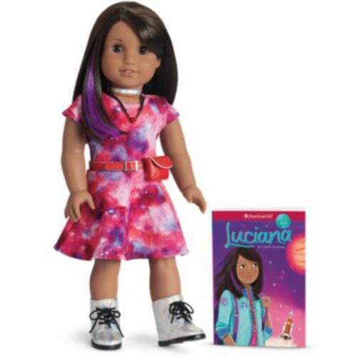 American Girl bambola Luciana Vega & LIBRO-ORIGINALE (vedi descrizione) e TOP SELLER