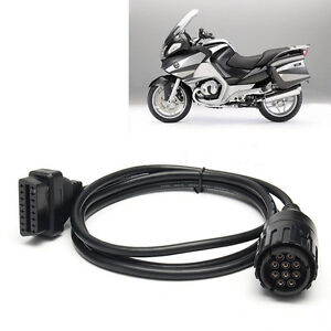 obd2 f r bmw 10 pin kabel adapter icom d motorrad motorrad. Black Bedroom Furniture Sets. Home Design Ideas