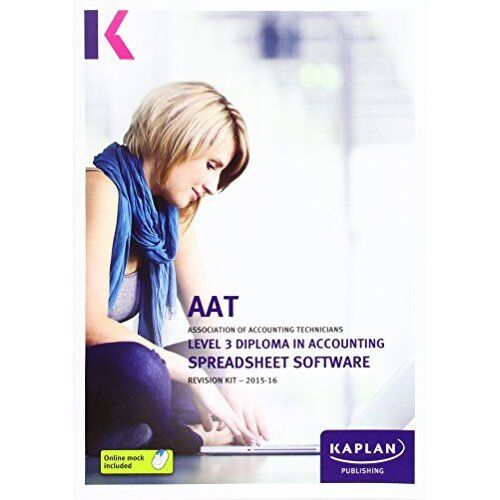 1 of 1 - Spreadsheet Software - Revision Kit by Kaplan Publishing (Paperback, 2015)